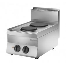 Kooktoestel 2 Kookplaten 400V Serie 650 Snack