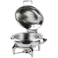 Chafing Dish Rond GLOBE met Hydraulische deksel  Chafing Dishes