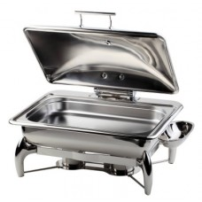Chafing Dish 1/1 GLOBE met Hydraulische deksel  Chafing Dishes