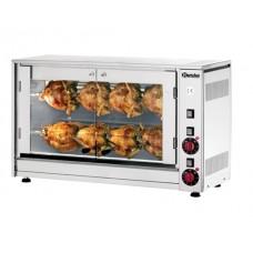 Kippengrill Elektrisch voor 8 Kippen 230V Grillsystemen
