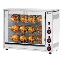 Kippengrill Elektrisch voor 12 Kippen 400V Grillsystemen