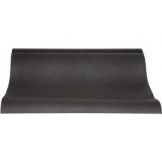 Tafelloper Papier voelt als Textiel Zwart | 0.4 x 4.8 meter | Per rol Tafelkleden