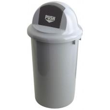 Kunststof Afvalbak met Klapdeksel 47 Liter Afvalbakken