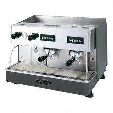 Espressomachine  met 2 Groepen met Koppenwarmer  Bonen Automaten