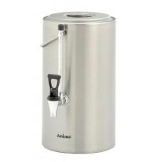 Dranken Container Elektrisch Verwarmt met Peilglas 10 Liter