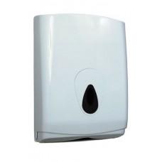 PlastiQ Line Handdoekdispenser Midi Kunststof Wit