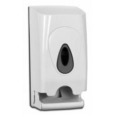 PlastiQ Line Toiletrolshouder 2-Rols Doprol Kunststof  Wit PlastiQline Dispensers
