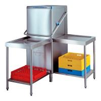 Elettrobar Aan- of Afvoertafel met onderbouw  Vaatwasmachines