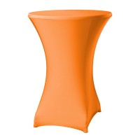 Samba Statafelhoes Oranje met Topcover Ø85