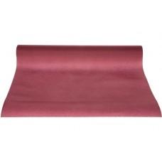 Tafelloper Papier Bordeaux 40 x 480 cm. Per rol Tafelkleden