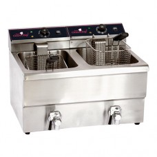 Friteuse 2 x 8 Liter CaterChef  Friteuses
