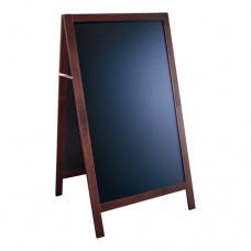 Stoepbord Authentic Mahogany 135x75 cm
