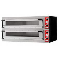 "Gastro-M Pizzaoven met 2 Kamers type ""Milan 2"" Pizzaovens"
