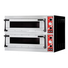 "Gastro-M pizzaoven met 2 kamers type ""Rome 2"" Pizzaovens"