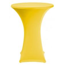 Samba Statafelhoes Geel met Topcover Ø80-85cm