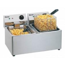 Bartscher Friteuse Snack 2 x 8 Liter | 230V Friteuses