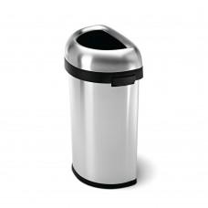 Afvalbak Halfrond Slim Open Simplehuman | 60 Liter Afvalbakken