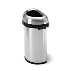 Afvalbak Halfrond Slim Open Simplehuman 60 Liter