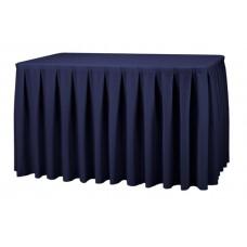 Combirok Boxpleat Stof Poly Jersey Donkerblauw 183x76x73