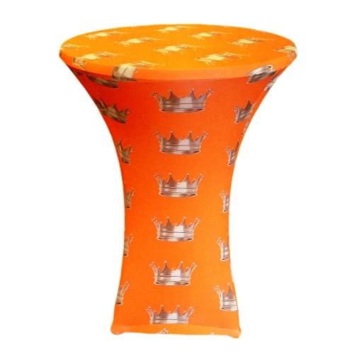 Samba Oranje Statafelhoes Koningsdag 80-85 cm. OP=OP Samba Topcover