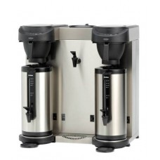 Thermoskan Koffiezetapparaat met Waterkoker incl. 2 Thermoscontainers 2.4 Liter MT202W Thermoskan Apparatuur