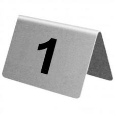 RVS tafelnummers 1-10 Tafelstandaards