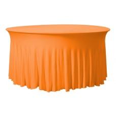 Tafelhoes Grandeur Rond Easy Jersey Oranje