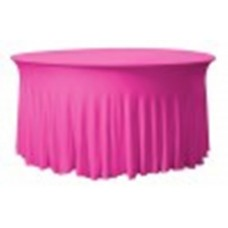 Tafelhoes Grandeur Rond Easy Jersey Roze