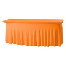 Tafelhoes Grandeur Rechthoekig Easy Jersey Oranje