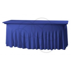 Tafelhoes Grandeur Rechthoekig Easy Jersey Donkerblauw