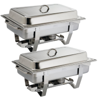 Chafing Dish Bain Marie GN 1/1 Per 2 stuks ACTIE Chafing Dishes