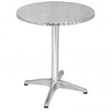 Bolero RVS tafel rond 60cm Bistrotafels