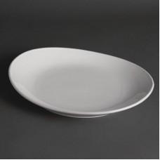 Olympia Whiteware Steakbord 31 cm. Per 6 Olympia Amuse Porselein