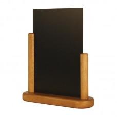Securit tafelbordje teak 21x15cm Tafelkrijtbord